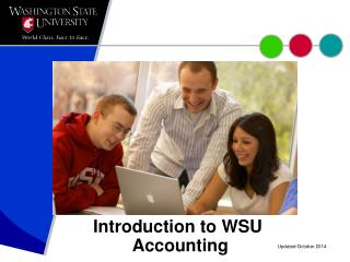 Introduction to WSU  Accounting