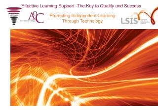Effective Learning Support -The Key to Quality and Success
