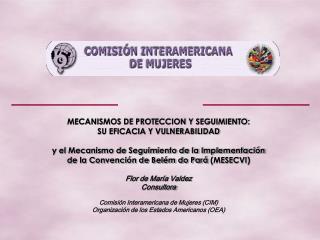 MECANISMOS DE PROTECCION Y SEGUIMIENTO:  SU EFICACIA Y VULNERABILIDAD