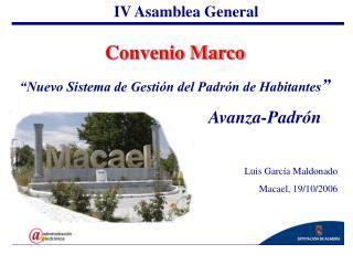 IV Asamblea General