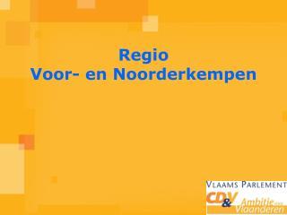 Regio Voor- en Noorderkempen
