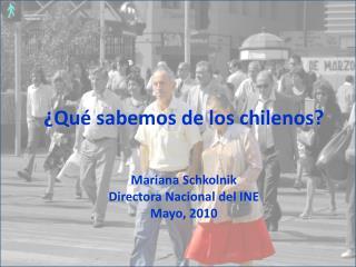 ¿Qué sabemos de los chilenos?