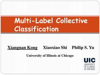 Multi-Label Collective Classification