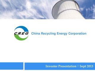 Investor Presentation | Sept 2013