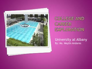 College and Career exploration