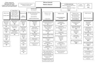 Struktura organizacyjna  Ministerstwa  Finansów oraz p odporządkowanie  organów