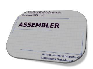 Element  dari Bahasa Pemrograman  Assembler