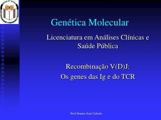 Gen�tica Molecular