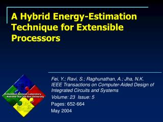 A Hybrid Energy-Estimation Technique for Extensible Processors