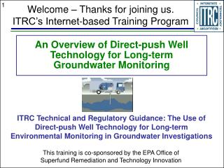 An Overview of Direct-push Well Technology for Long-term Groundwater Monitoring