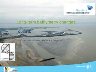 Long-term bathymetry changes