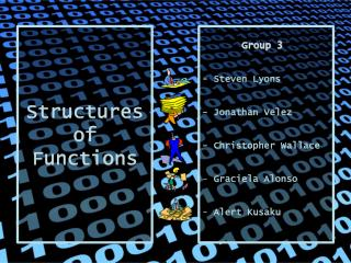 Structures of Functions