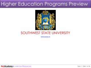 Higher education act of 1965 as amended