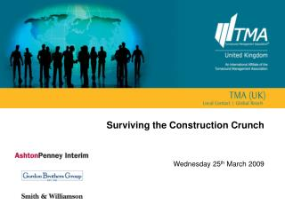 Surviving the Construction Crunch
