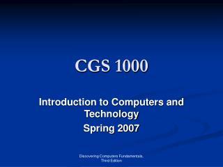 CGS 1000