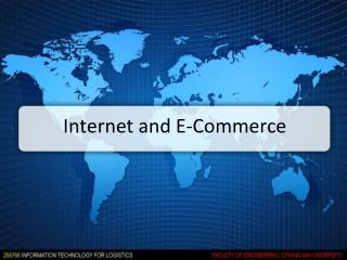 Internet and E-Commerce