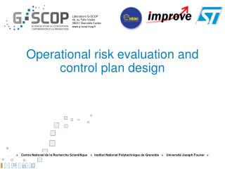 Operational risk evaluation and control plan design