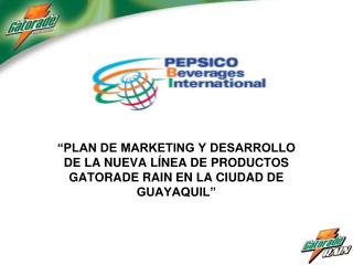 An�lisis de Marketing local de las                    bebidas no alcoh�licas