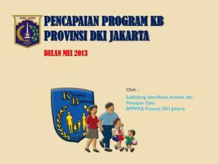PENCAPAIAN PROGRAM KB PROVINSI DKI JAKARTA BULAN MEI  2013