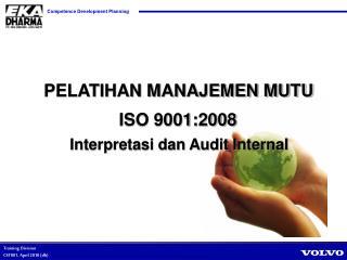 Interpretasi dan Audit Internal