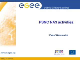 PSNC NA3 activities