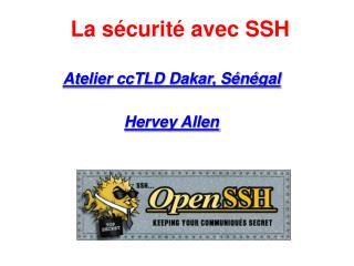 La s curit  avec SSH