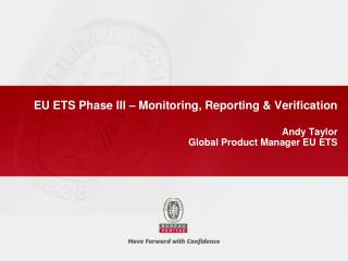 EU ETS Phase III   Monitoring, Reporting  Verification