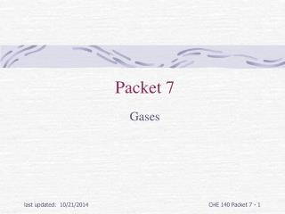 Packet 7