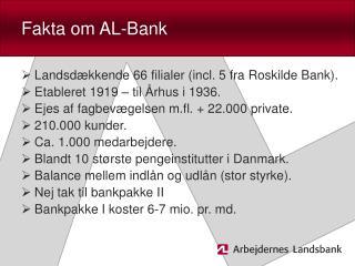 Fakta om AL-Bank