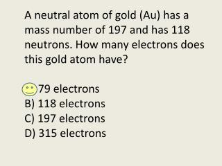 What is the oxidation number for this element?