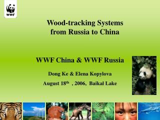 Wood-tracking Systems  from Russia to China