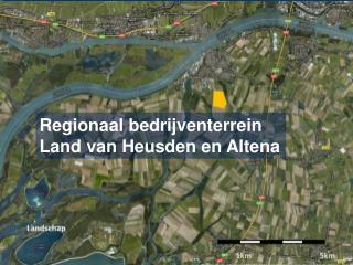 Regionaal bedrijventerrein  Land van Heusden en Altena