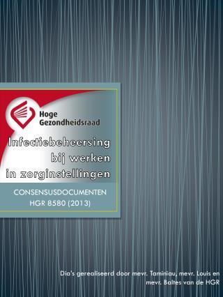CONSENSUSDOCUMENTEN HGR 8580 (2013)