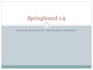 Springboard 1.9