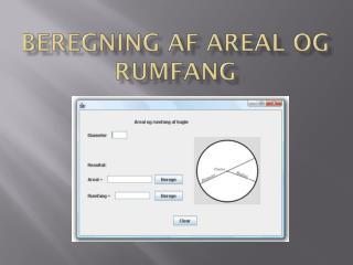 Beregning af areal og rumfang
