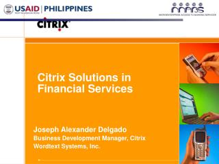 Citrix Solutions in Financial Services