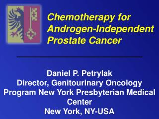 Chemotherapy for Androgen-Independent Prostate Cancer