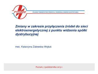 Poznań, 7 października 2013 r.