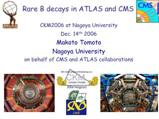 Rare B decays in ATLAS and CMS