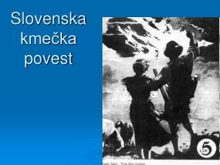 Slovenska kmečka povest