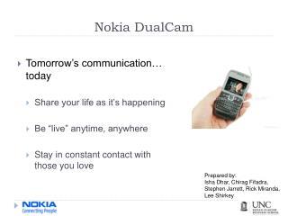 Nokia DualCam