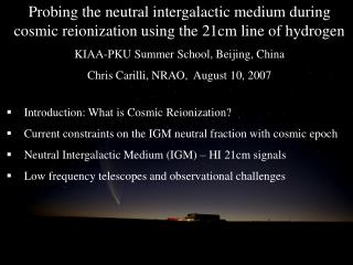 Introduction: What is Cosmic Reionization?