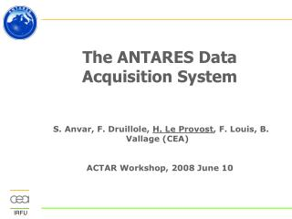 The ANTARES Data Acquisition System
