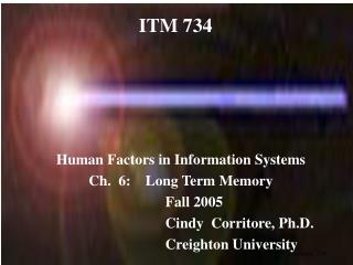 ITM 734