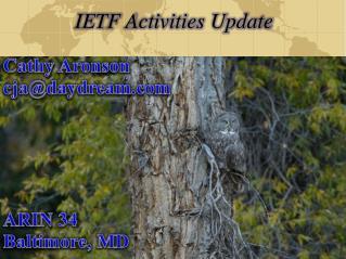 IETF Activities Update