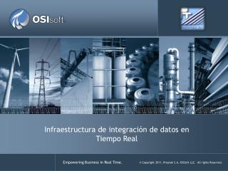 Infraestructura de  integración  de  datos  en Tiempo Real
