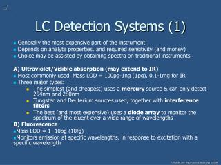 LC Detection Systems (1)