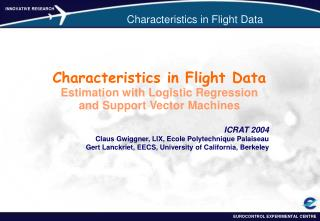 Characteristics in Flight Data
