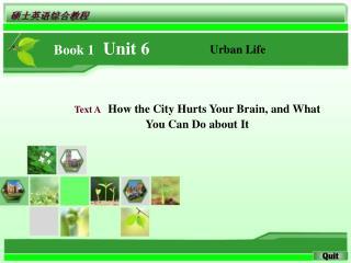 Book 1   Unit 6
