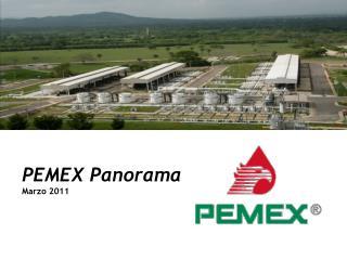 PEMEX Panorama Marzo 2011